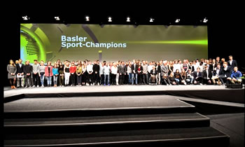 Basler Sport Champions 2017 - SPORTAL BASEL - Ihr Sport-Netzwerk im Dreiländereck - Powered by Jansen-Gisiger COMMUNICATION - Graphic & Design, Photography and Websites