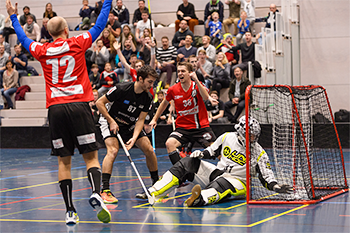 Unihockey Basel Regio startet mit Doppelsieg in den Playoff-Halbfinal - SPORTAL BASEL - Ihr Sport-Netzwerk im Dreiländereck - Powered by Jansen-Gisiger COMMUNICATION - Graphic & Design, Photography and Websites